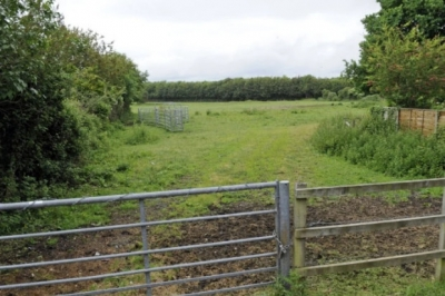 Land on the Havant/Emsworth boundary earmarked for development