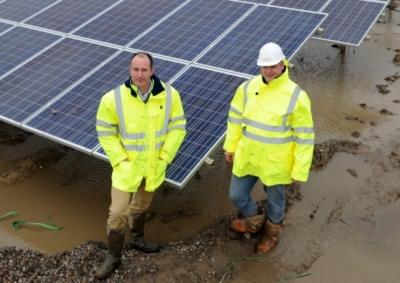 Newlands Solar Farm Construction