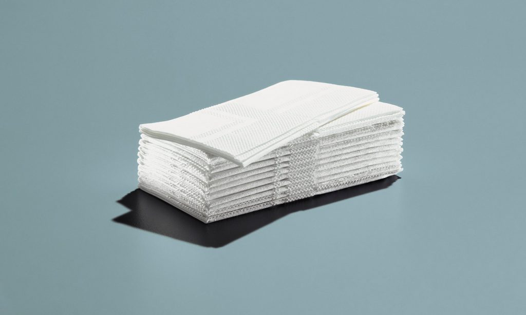Paper towels: use rags or towels instead. Photograph: Alamy