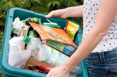 Recycling rates have fallen across the area